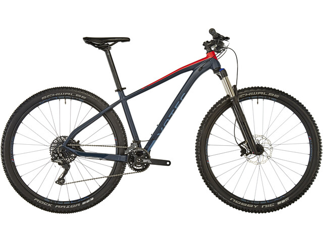 VOTEC VC Comp - Tour/Trail Hardtail - shadow blue-red
